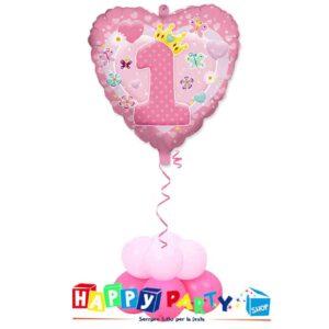 composizione-1-palloncino-mylar-primo-compleanno-rosa-cuore-1.jpg