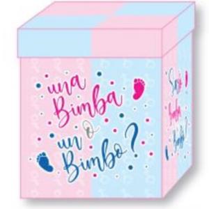scatola a sorpresa con palloncino ad elio