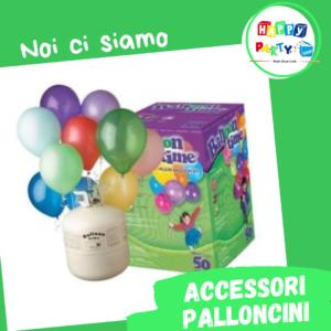 kit elio accessori palloncini