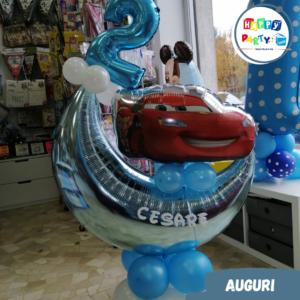 allestimenti palloncini compleanno cars