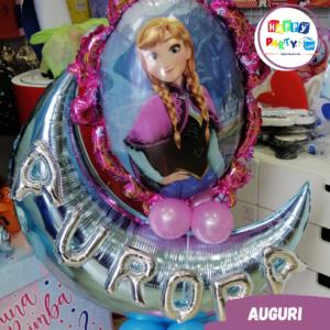 allestimenti palloncini compleanno frozen