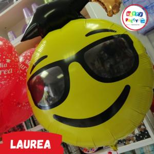 Allestimento Palloncini Festa di Laurea smile
