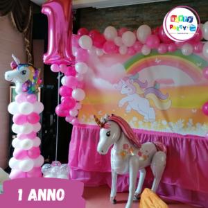 allestimenti palloncini special unicorno